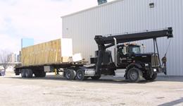 Boom Truck Tractor Trailers