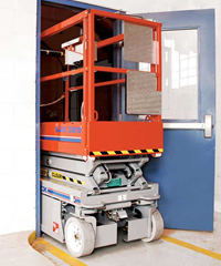Electric Scissor Lifts Rental in Toronto | Dwight Crane