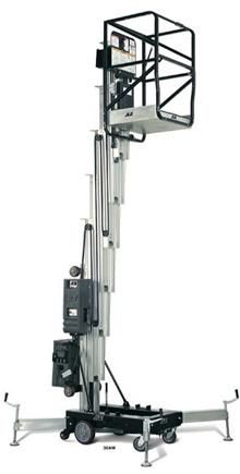 Push Around Vertical Mast Lifts
