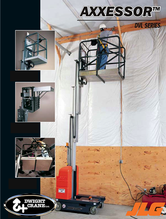 Driveable Vertical Mast Lift Rental