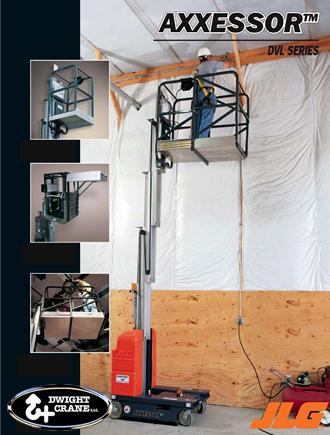 Driveable Vertical Mast Lift Rental