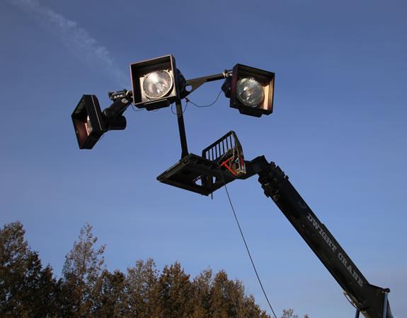 LRX Telehandler Light Adapter