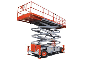 50' Rough Terrain Scissor