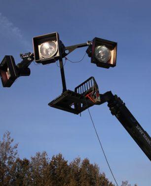 Telehandler LRX Lighting Adapter
