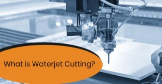 Process of waterjet cutting
