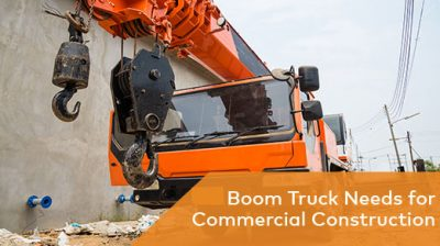 Commercial Construction Uses for a Boom Truck