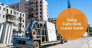 How to Use Carry Deck Cranes for an In-Studio Construction