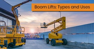 types of boom lifts available