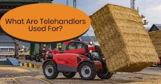 Common applications of telehandlers