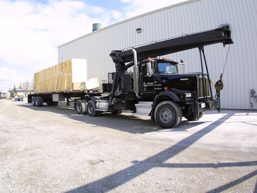 Cranes & boom trucks 26