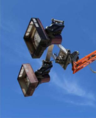Compact Crawler LRX Fixture Mount