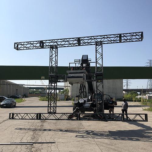 telehandler mounted flyswatter LRX